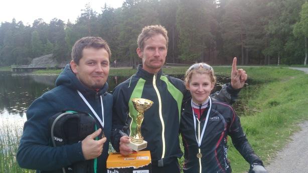Oliver, Henrik och jag