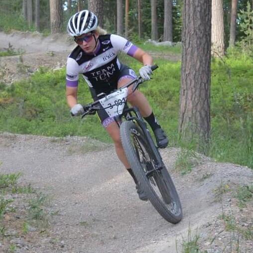 Uppforsbacke for vm cyklisterna